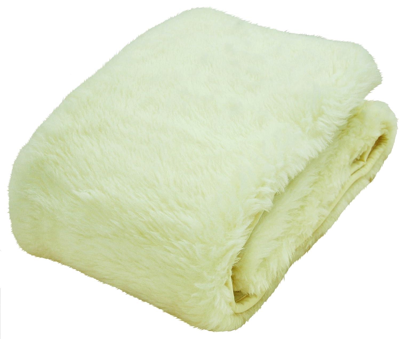 ボーマ(BOMA) ウール敷き毛布 ウールパイル使用  シングル アイボリー B00F3QX76U