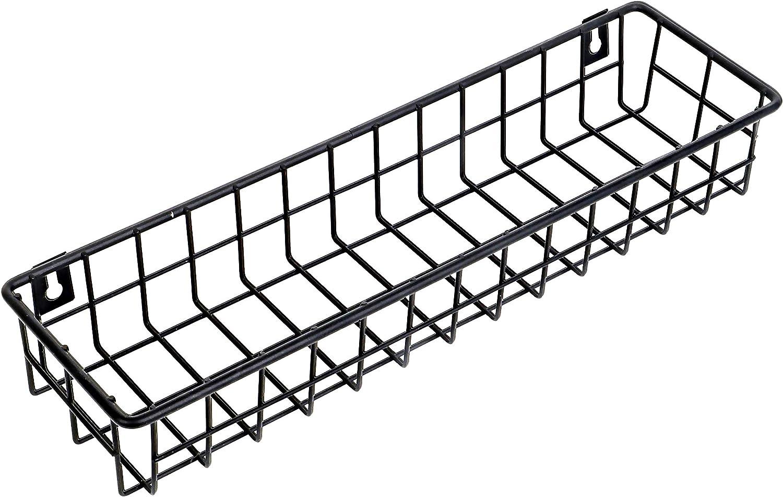 Wire Baskets For Storage Wall - Mount, Hanging Basket for Organizing, Metal Baskets for Storage, Wire Shelf Organizer, Cabinet Door Organizer And Storage