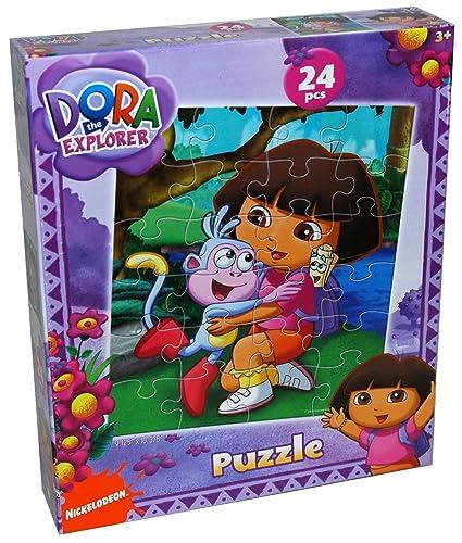 Dora the Explorer 24-Piece Jigsaw Puzzle, Styles Vary