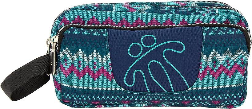 TOTTO Agapec AC52ECO009-1620Z-8UN Estuche Escolar Tres Compartimentos, 23 cm, Multicolor (8UN): Amazon.es: Oficina y papelería