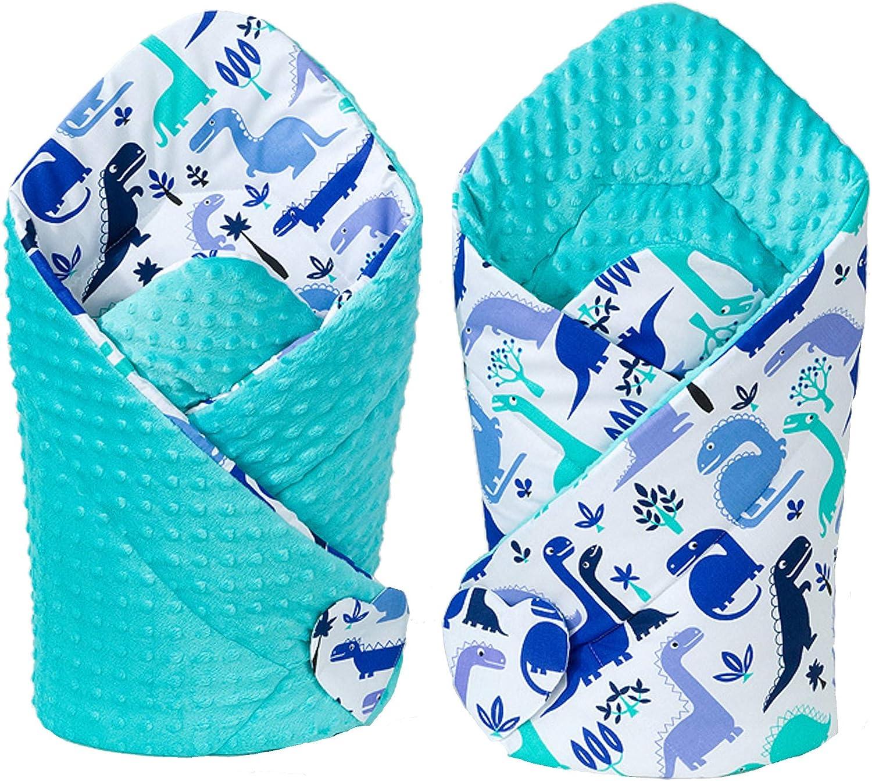 Sevira Kids Minky Saco de dormir para beb/é blanco blanco Talla:D/ès la naissance 3//4 mois.