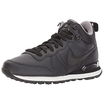 Nike Internationalist Mid Leather 859549-001 Black/Pewter/Dust Women's Shoes