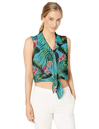 ddc51d75b749 Amazon.com: Amazon Brand - 28 Palms Women's Loose-Fit Silk/Rayon Tie ...