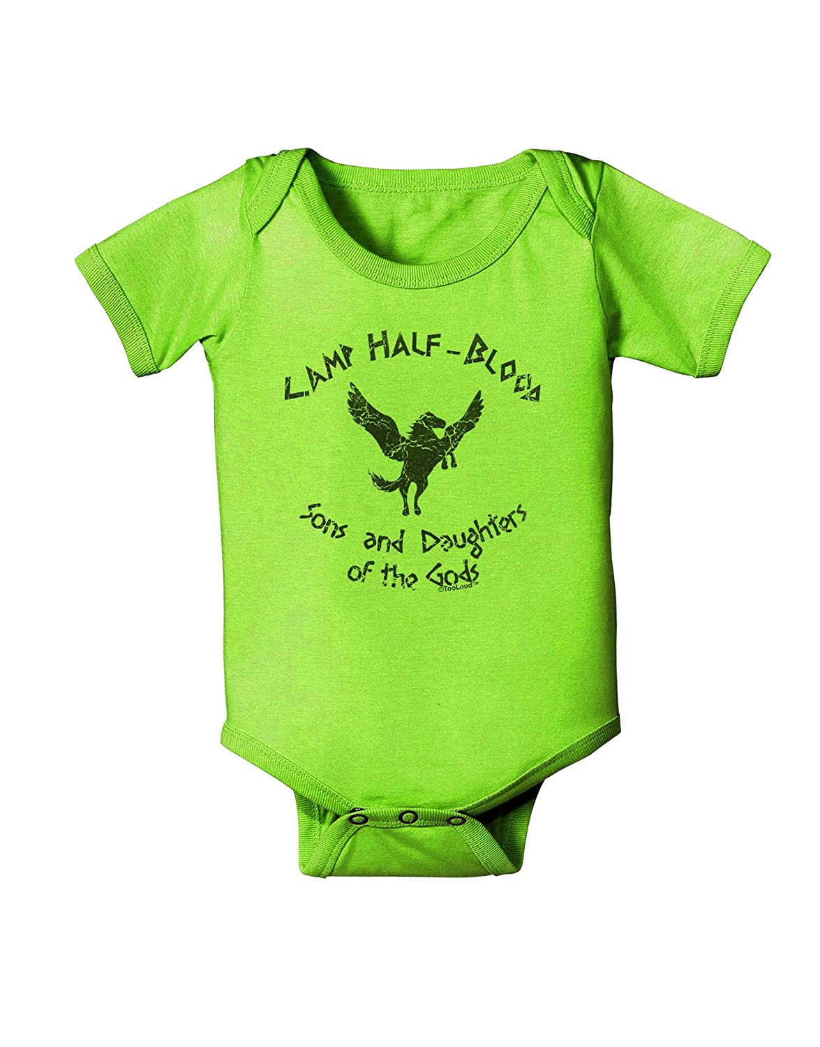 TooLoud Camp Half-Blood Sons and Daughters Baby Romper Bodysuit