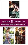 Harlequin Historical November 2018 - Box Set 1 of 2