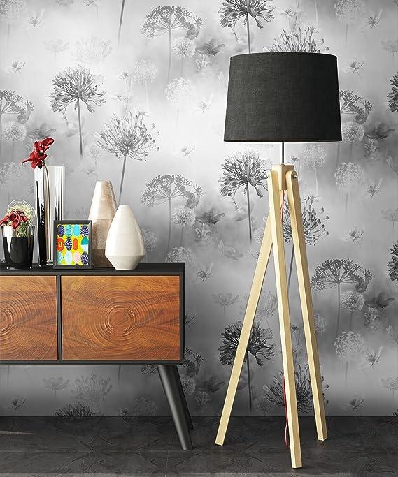 Tapezier Ratgeber NEWROOM Tapete Grau Schrift St/ädte Modern Papiertapete Metallic Papier moderne Design Optik Tapete Jung inkl