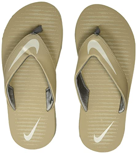 b780292ed Nike Men's Chroma 5 Khaki/Light Bone-Cool Grey Flip Flops Thong Sandals-