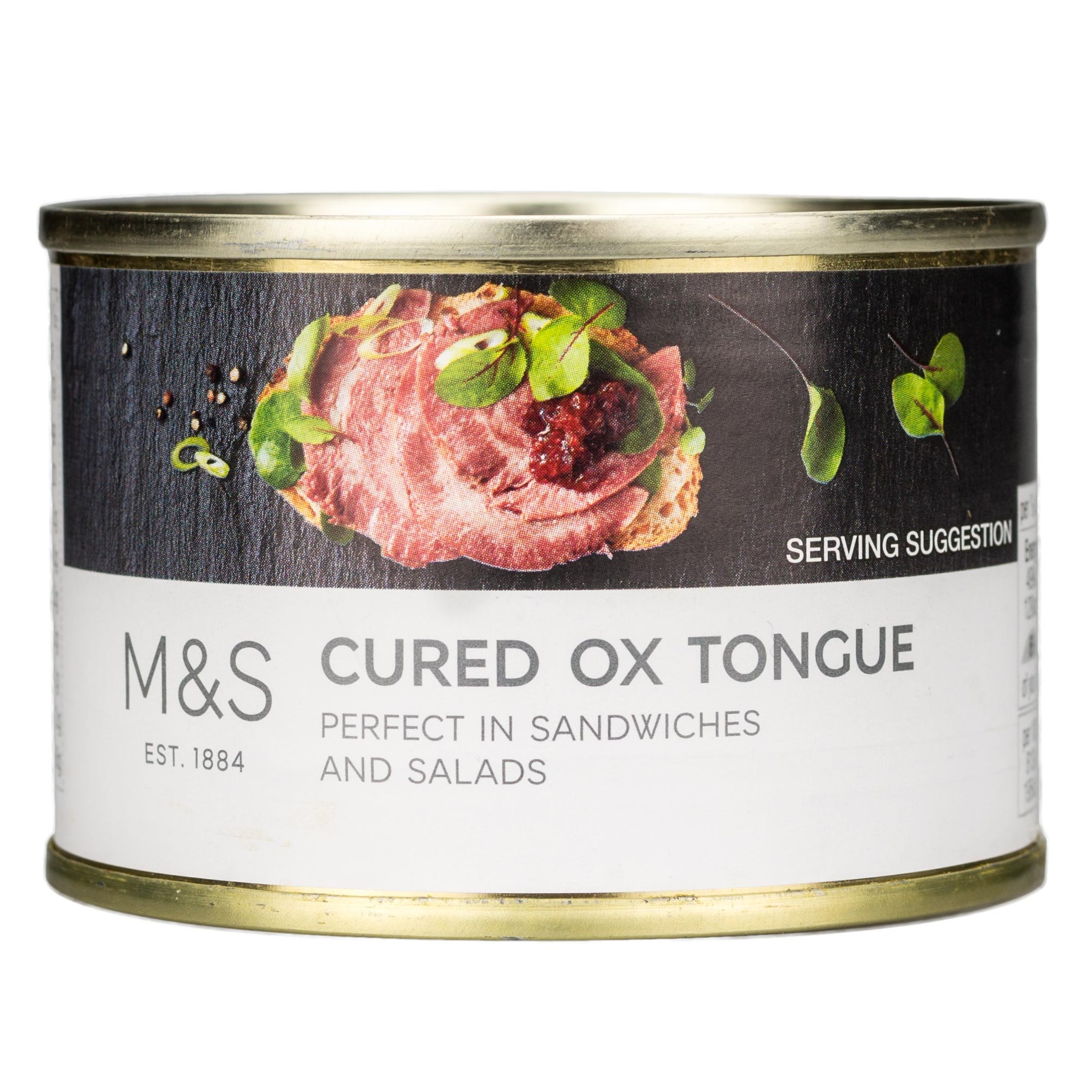 Marks & Spencer M&S Cured Ox Tongue 184g Made in the UK