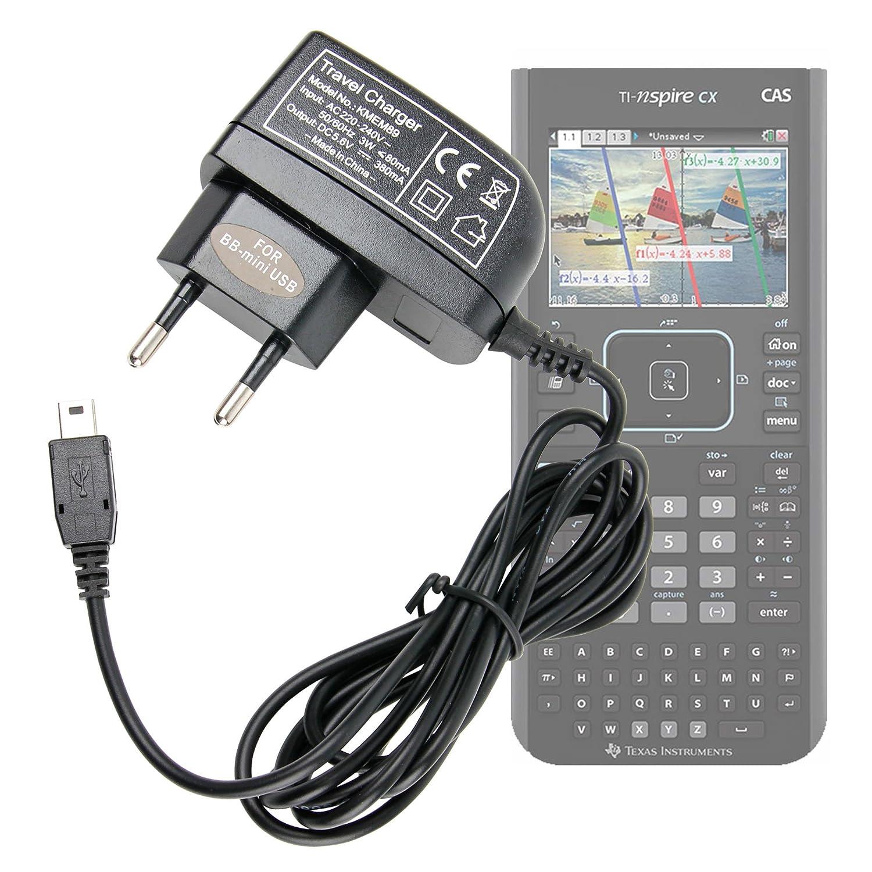 DURAGADGET Cavo Di Carica Per Texas Instruments TI-Nspire CX | CX CAS | TouchPad | CAS TouchPad | TI-84 Plus C Silver Edition - Connessione USB - MiniUSB