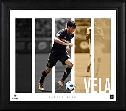 f24f66b92 Carlos Vela LAFC Framed 15   x 17   Player Panel Collage - Soccer Plaques  and Collages at Amazon s Sports Collectibles Store