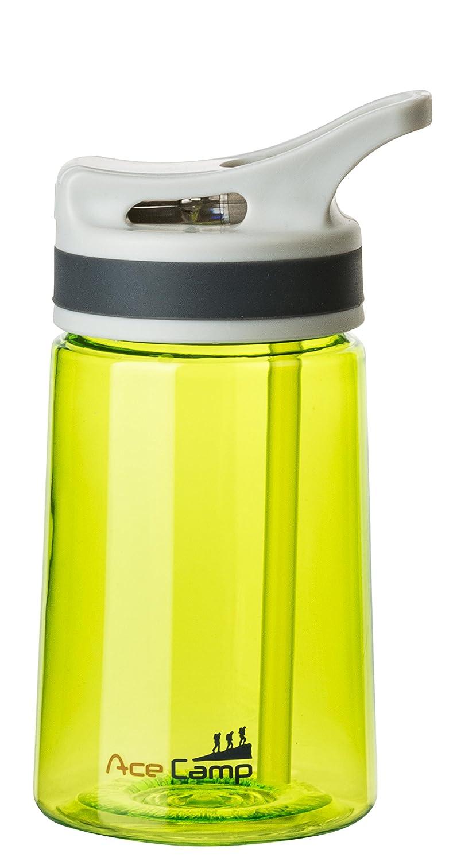 AceCamp Tritan springde CKEL - Botella (350 ML, sin BPA), Agua Botella, Deportes, Caño Seguro, con Pajita, Verde, 15525: Amazon.es: Deportes y aire libre