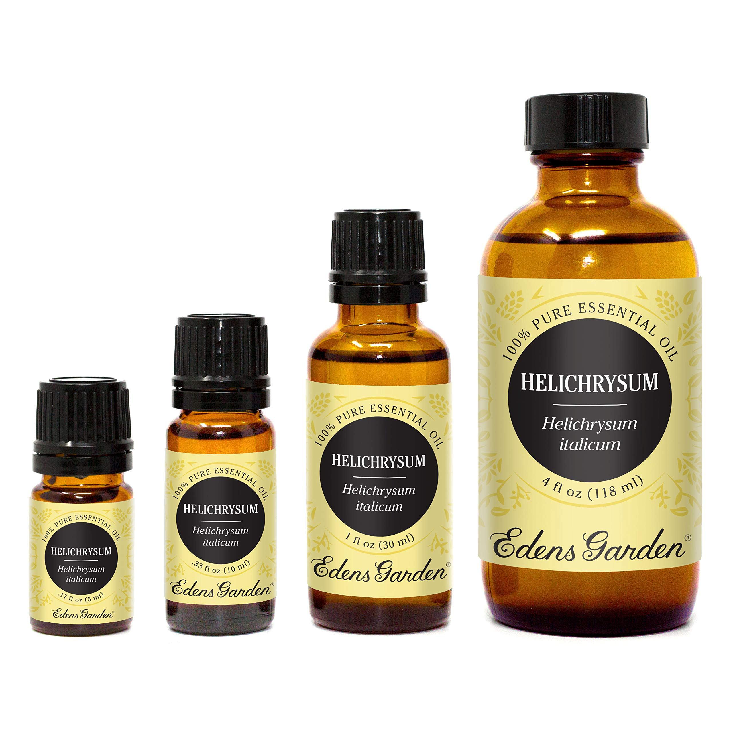 Edens Garden Helichrysum Italicum Essential Oil, 100% Pure Therapeutic Grade (Highest Quality Aromatherapy Oils- Eczema & Skin Care), 30 ml by Edens Garden