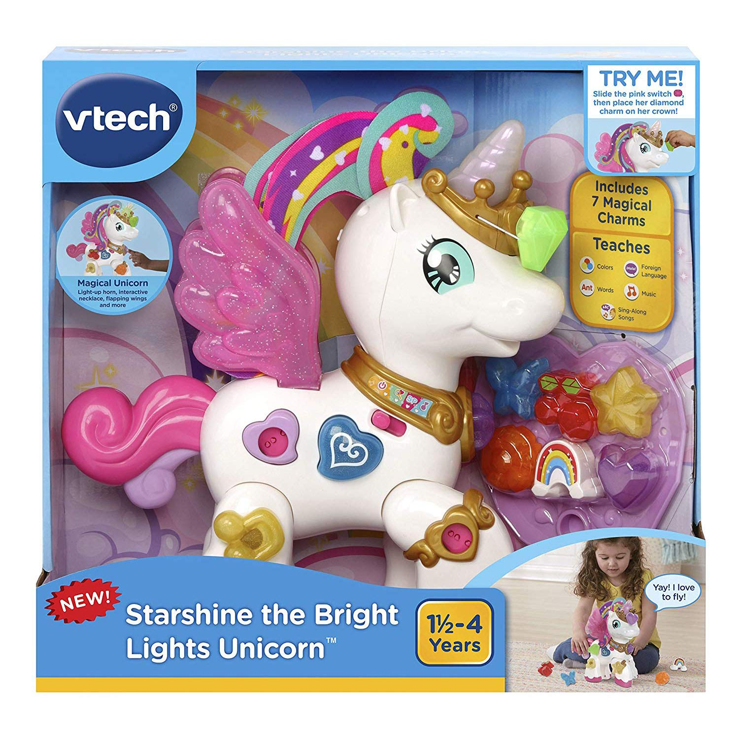 VTech Starshine the Bright Lights Unicorn by VTech (Image #7)