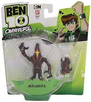 Ben 10 Omniverse 10cm Alien Collection Figure Upgrade Malware