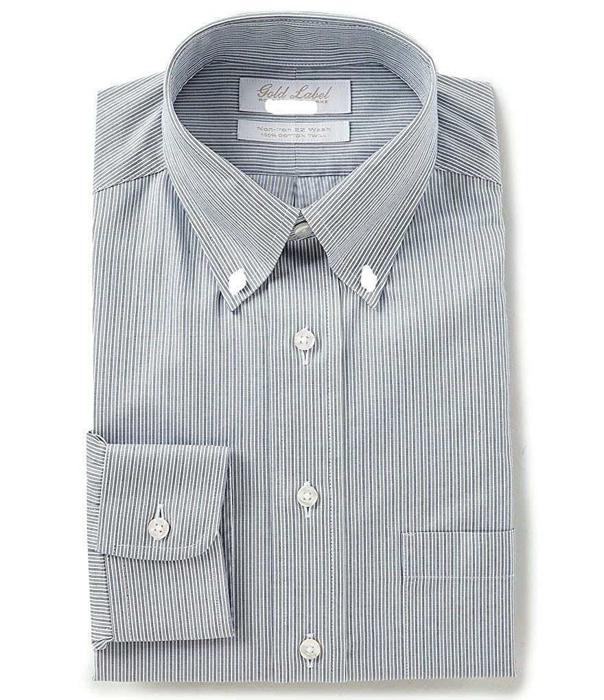 0169f7272ac Gold Label Roundtree & Yorke Big and Tall Non-Iron Regular Full-Fit ...
