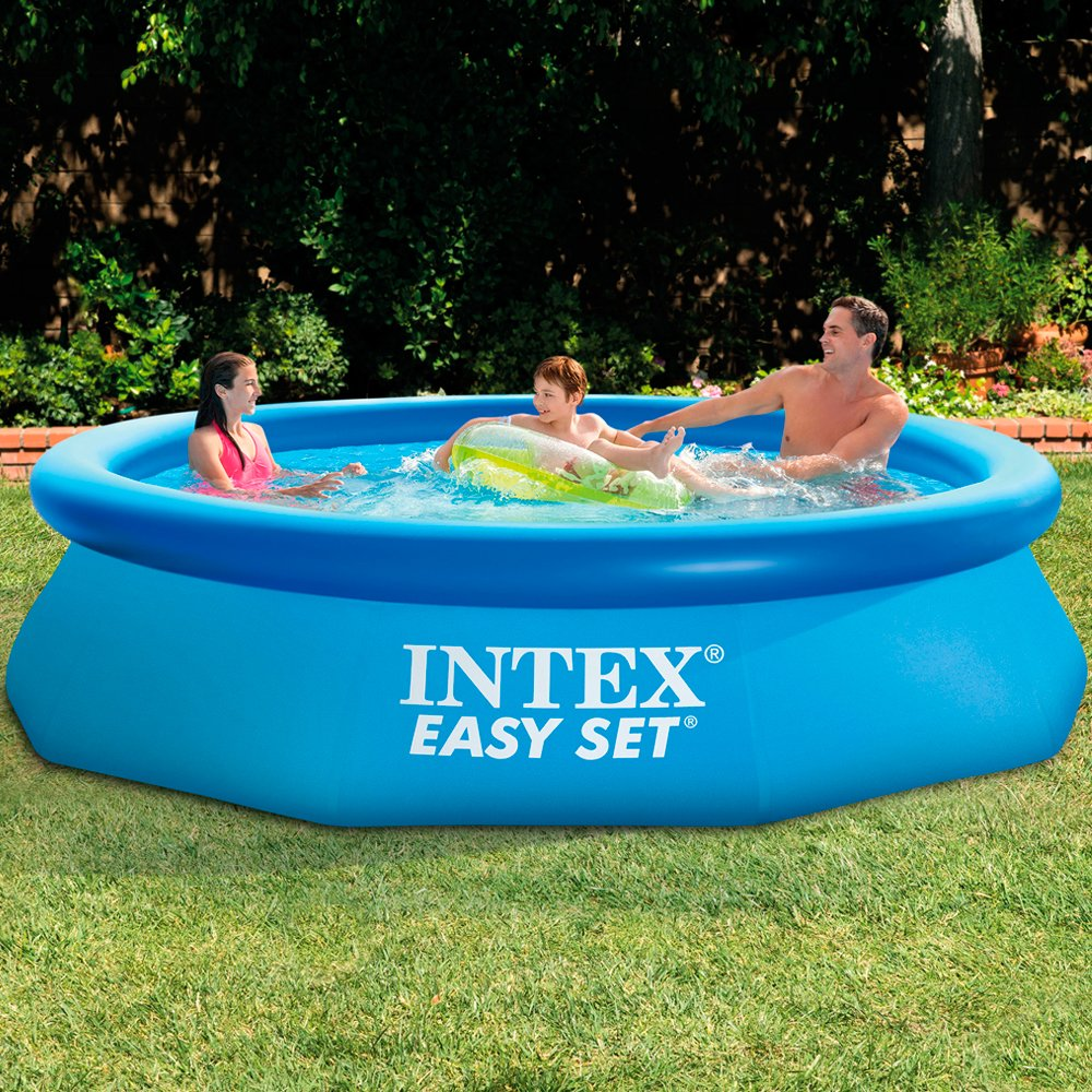 10ft x 30in Easy Set Pool with Filter Pump #56922 Intex WetSet 28122 Garden Building & Decor Pools