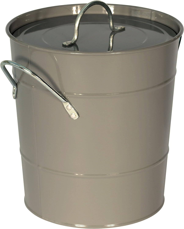 Cubo de reciclaje de basura de metal para la cocina: Amazon.es: Hogar