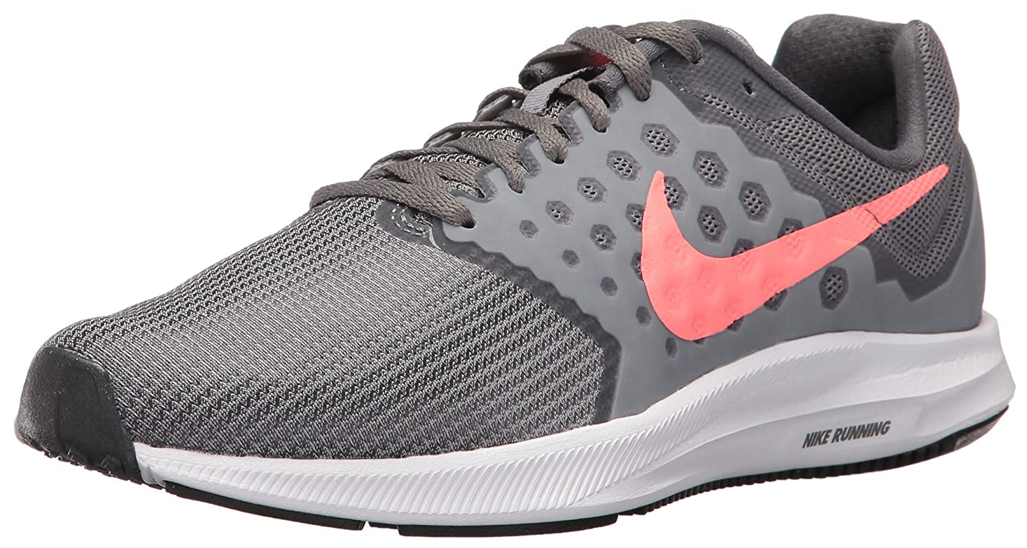 Nike Women s Downshifter 7 Running Shoe, Cool Lava Glow-Dark Grey, 6 Wide US