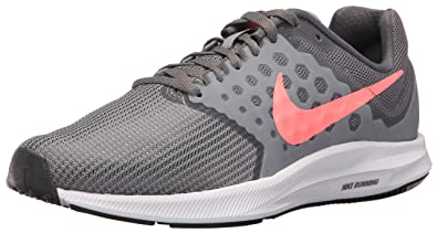 c09e4c30b9b8f Nike Women s Downshifter 7 Running Shoe Cool Lava Glow-Dark Grey