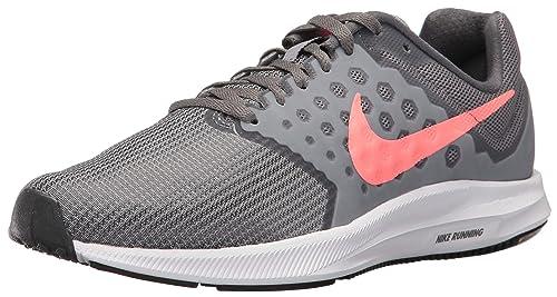 Nike Women s Downshifter 7 Running Shoe Cool Lava Glow-Dark Grey 18a2e619b0