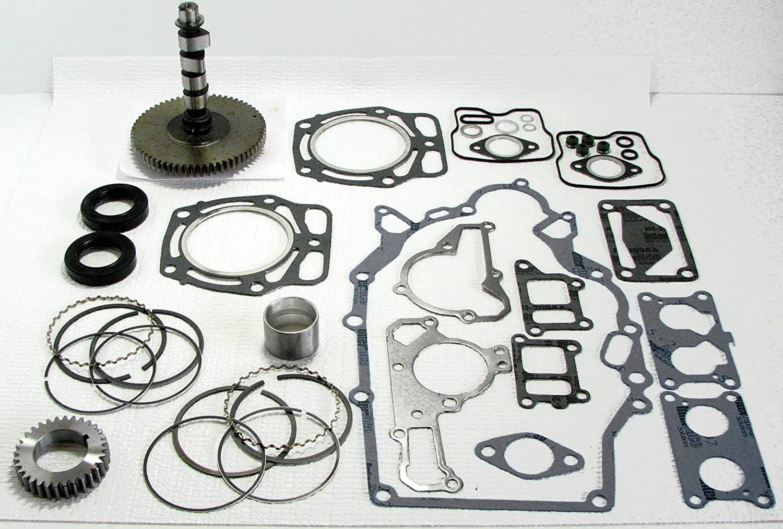 Kawasaki FD620 / John Deere 425, 445, 455 Engine Rebuild Kit with Camshaft  and Pistons