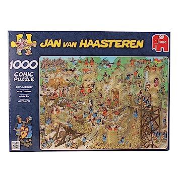 Jan van Haasteren Puzzle 1000 Teile Spiel Deutsch 2015 Die Flucht