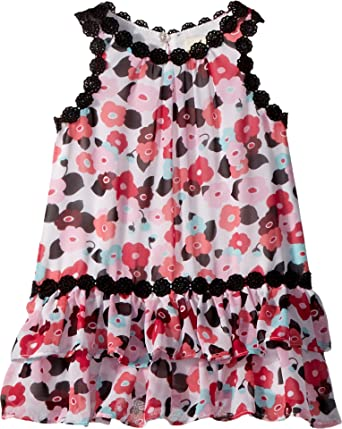 8298c6e7f Amazon.com: Kate Spade New York Kids Baby Girl's Blooming Floral Dress  (Infant) Blooming Floral 24 Months: Clothing