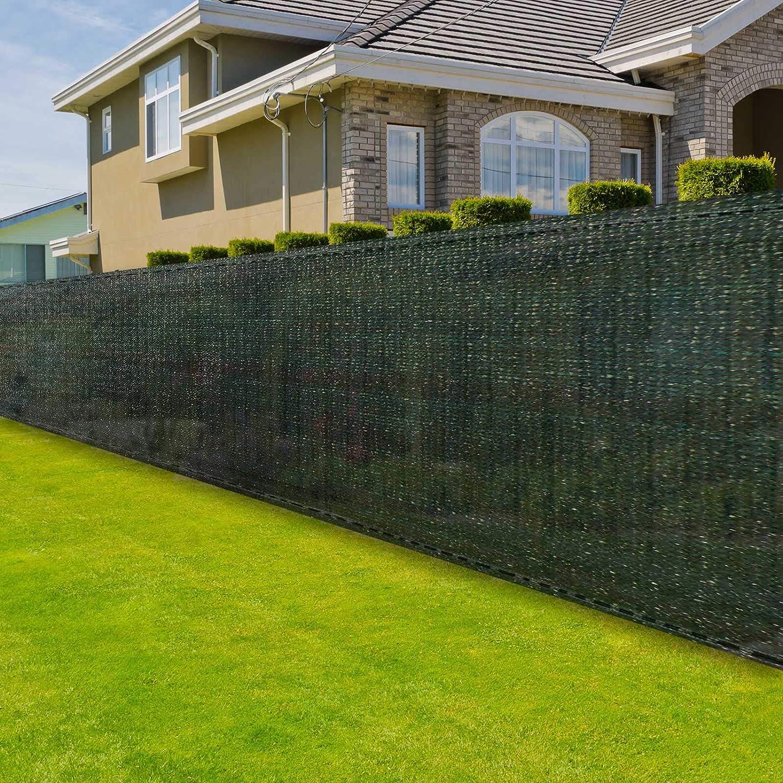 Zaunblende Grun 1 2 M Hoch Sichtschutz Gartenzaun Zaunsichtschutz