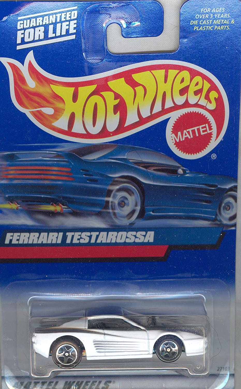 Hot Wheels 2000 136 White Ferrari Testarossa 1 64 Scale By Hot Wheels Amazon De Spielzeug