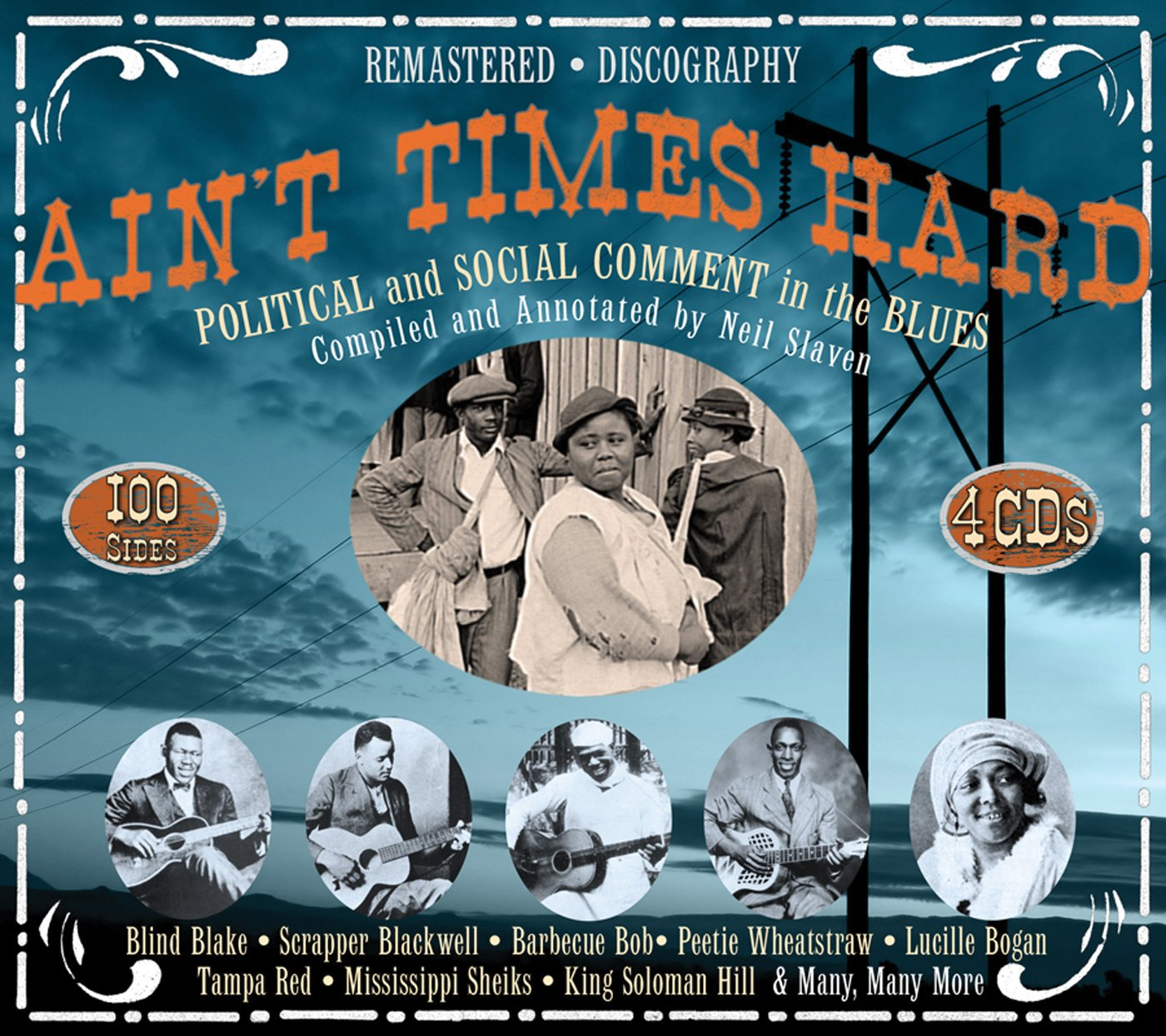 Aint's Times Hard: Political and Social Comment In the Blues