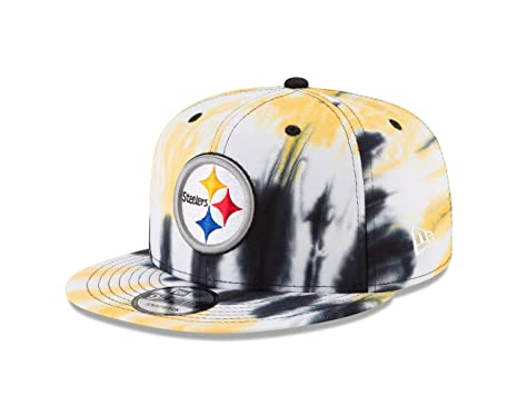 new styles e5604 7fe9c Image Unavailable. Image not available for. Color  New Era Pittsburgh  Steelers Marbled Team 9FIFTY Snapback Adjustable NFL Hat