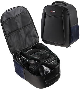 ec9636a39b0b Navitech Rugged Black & Blue Backpack / Rucksack / Case / Cover For The  Lenovo Explorer Mixed Reality Headset