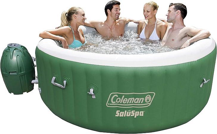 Amazon.com: Coleman SaluSpa Bañera de hidromasaje inflable ...
