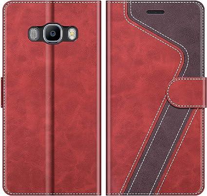 MOBESV Funda para Samsung Galaxy J7 2016, Funda Libro Samsung J7 ...