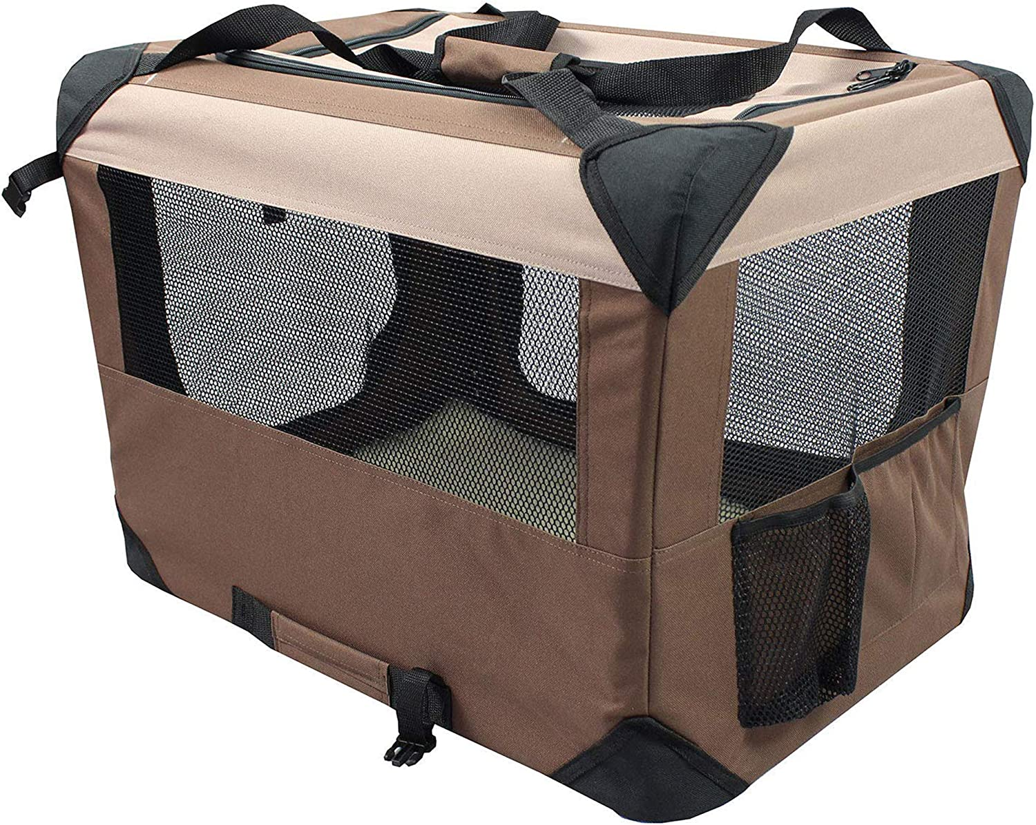 Iconic Pet Multipurpose Pet Soft Crate with Fleece Mat
