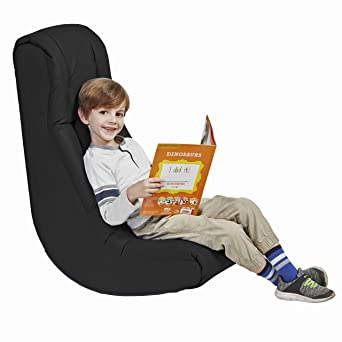 Phenomenal Soft Floor Rocker Cushioned Ground Chair For Kids Teens And Adults Great For Reading Gaming Meditating Tv Black Gmtry Best Dining Table And Chair Ideas Images Gmtryco