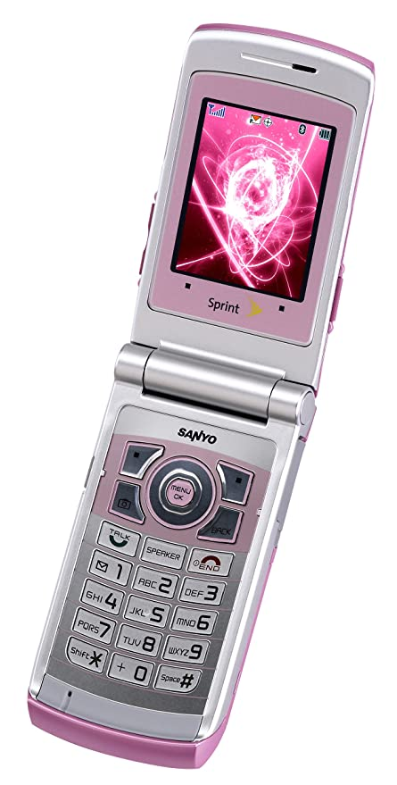 amazon com sanyo katana ii 6650 pink phone sprint cell phones rh amazon com Sanyo Katana Charger Sanyo Flip Phone