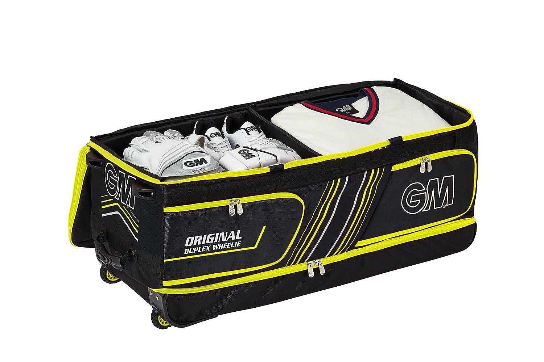Amazon.com   Gunn   Moore Original Duplex GM Origional Duplex Wheelie  Cricket Bag fcfc3d5cc39b4
