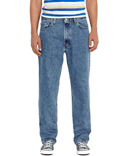 96c9226916c Levi s Mens Men s 550¿ Relaxed Fit Medium Stonewash Jeans at Amazon ...