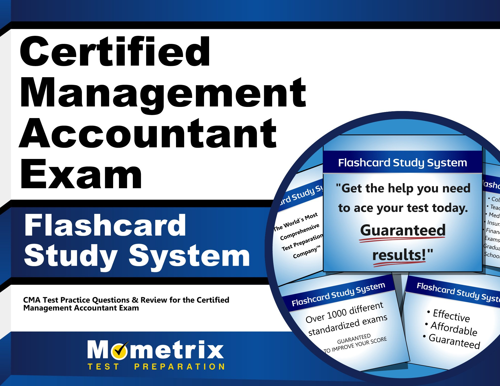 Certified Management Accountant Exam Flashcard Study System Cma
