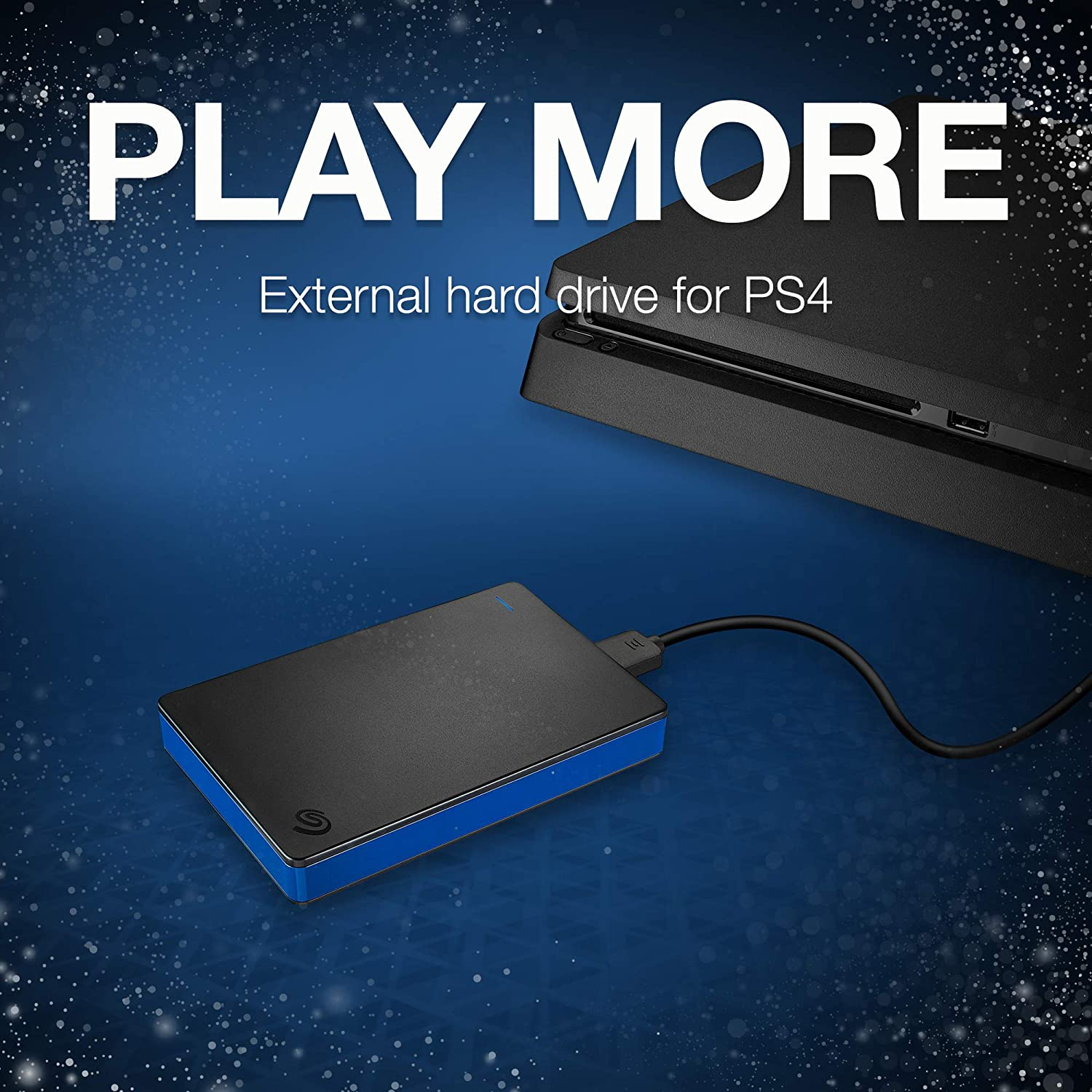 Seagate Game Drive 2TB External Hard Drive Portable HDD – Compatible with  PS4 (STGD2000400)
