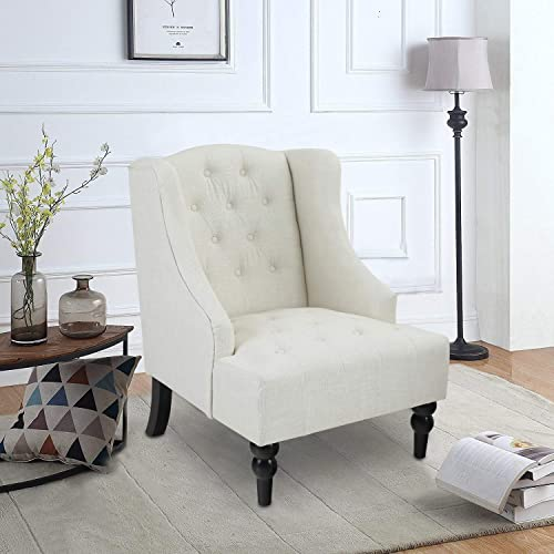 PHI VILLA Tufted Accent Chair