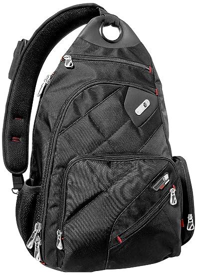 bcb152d495a Amazon.com: Ful Brick House Laptop Sling Backpack Backpack, Black ...