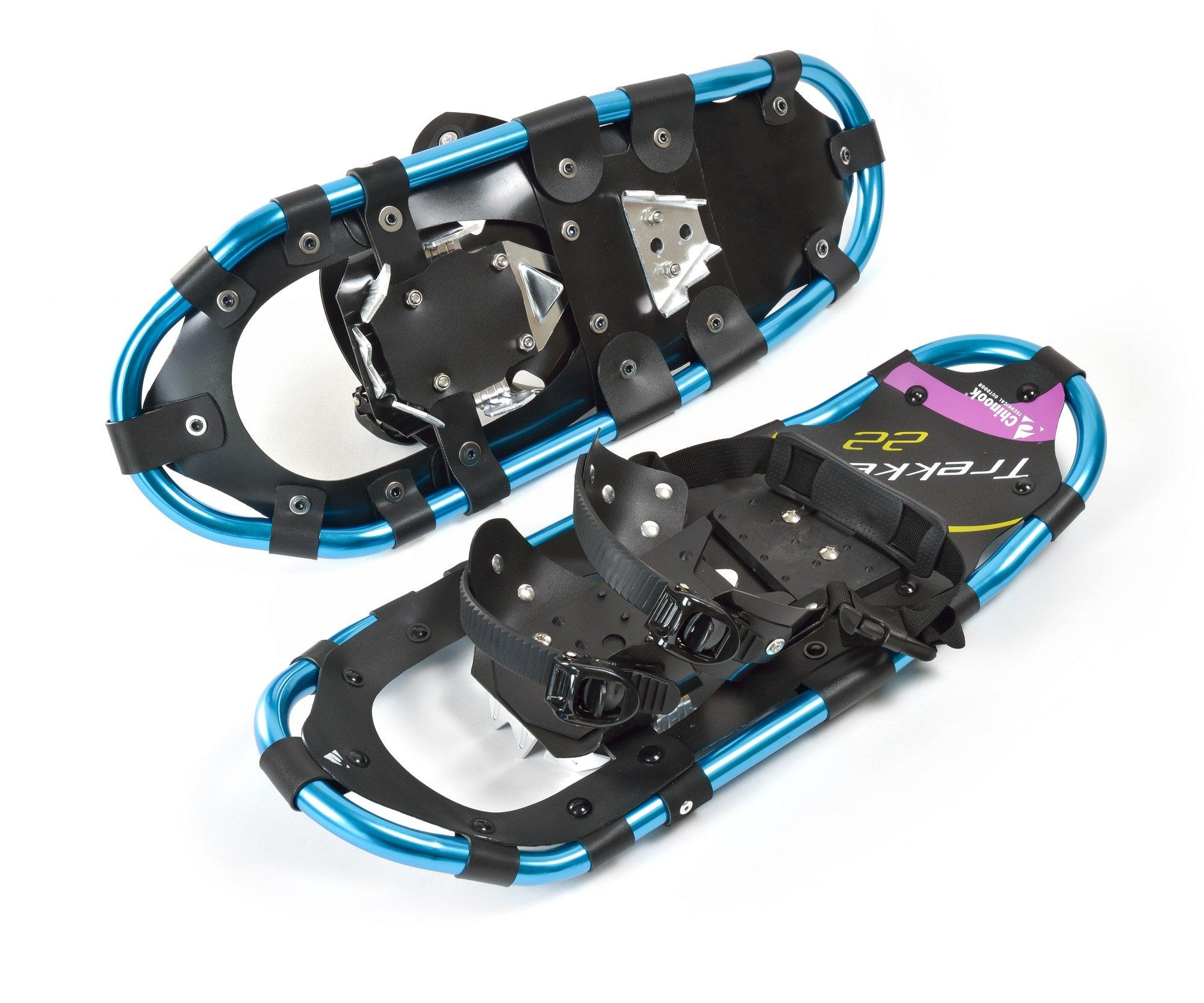 Chinook 80002  Trekker Snowshoes,Blue, 22 by Chinook