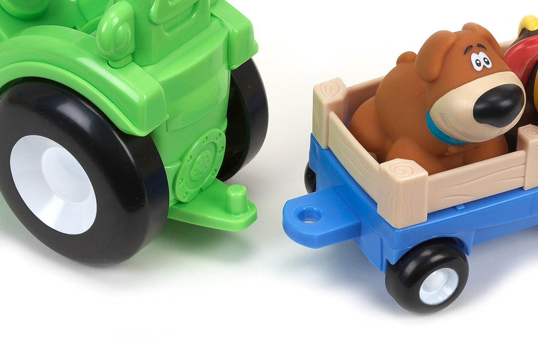 Klettergerüst Traktor : Little tikes 636189m handle haulers deluxe traktor: amazon.de