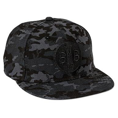 BVB Kappe Borussia Dortmund - Camouflage, schwarz grau, M L, 2466311 ... fcbd97118a