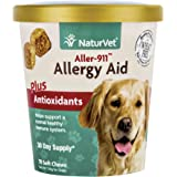 NaturVet 70 Count Aller-911 Allergy Aid Plus Antioxidants Soft Chews