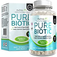 Pure Biotics Triple Strength Maximum CFU 180 Time Release High Strength Pearls