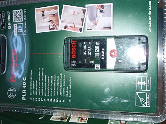 Bosch Entfernungsmesser Plr 40 C Weu : Bosch plr 40 c pll 1 p: amazon.de: elektronik