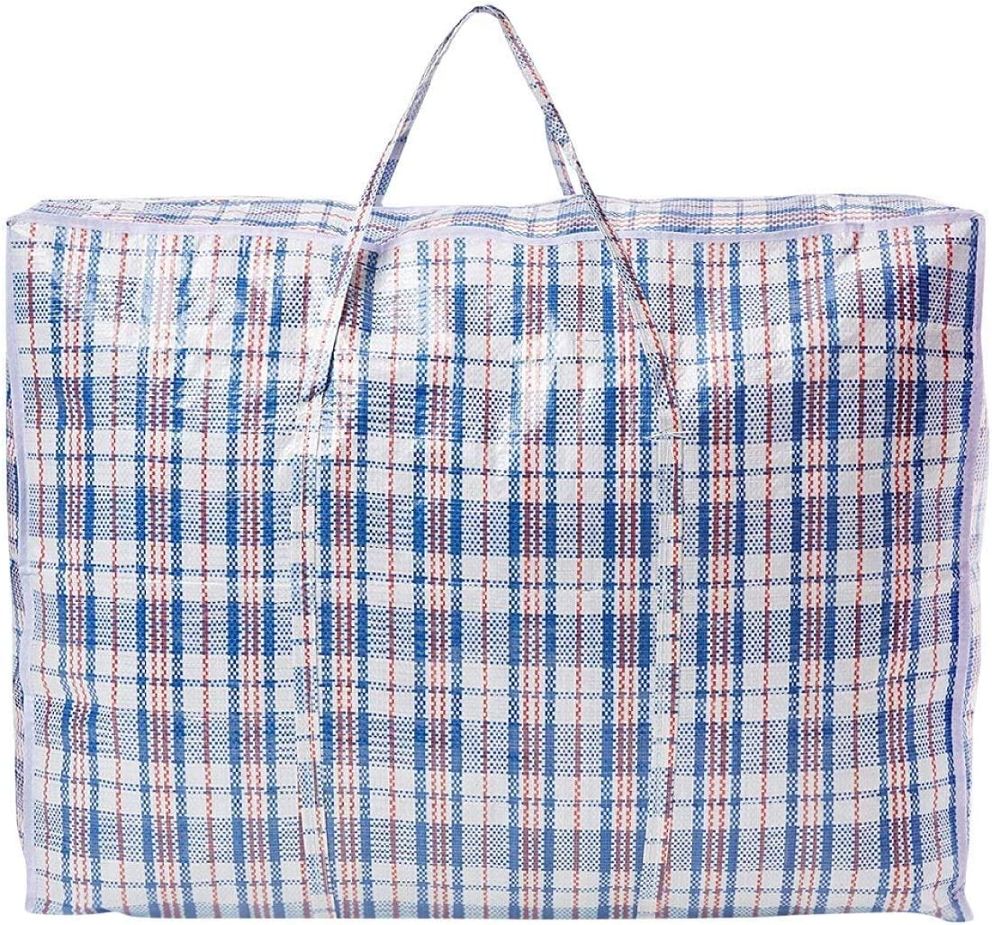 4 Pack Kapark XX-LARGE STRONG LAUNDRY BAGS//SHOPPING BAGS//REUSABLE STORE ZIP BAGS